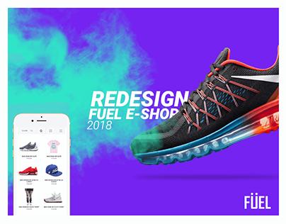 Redesign Fuel e-shop | 2018