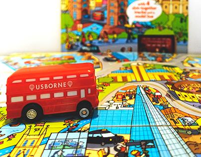Childrenbooks - Wind-up Bus ©2013Usborne Publishing