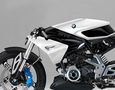 BMW Série M - Cafe Racer