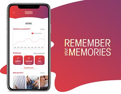 UX-UI DESIGN | REMEMBER YOUR MEMORIES