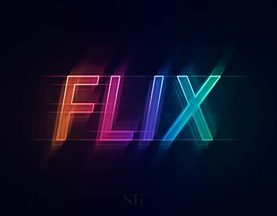 Glowing Neon Text