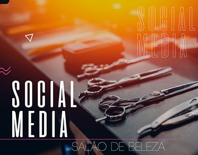 Social Media - Salão de Beleza