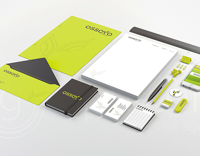 OSSOYO - Naming, Logotype, Corporate Identity
