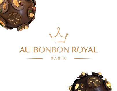 """Logo """"Au Bonbon Royal"""""""