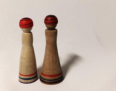 [Woodwork] Wooden Dolls