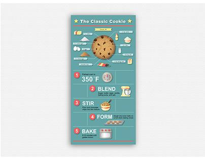 Kid's Cookie Infographic