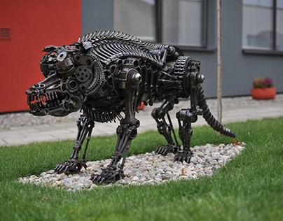 Biomechanic dog NO.:2 (2015)