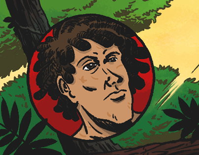 In The Jungle. Mini Comic.