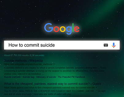 STOP BEING A TRIGGER TO SUICIDE