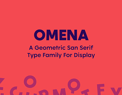 Omena Typeface