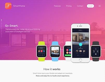 SmartHomeApp for desktop