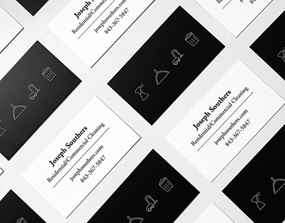 Joseph Souther's Cleaning branding and web design