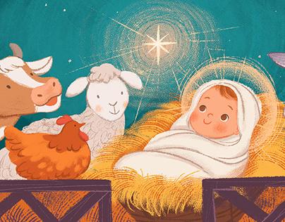 Away in a Manger - Children's book