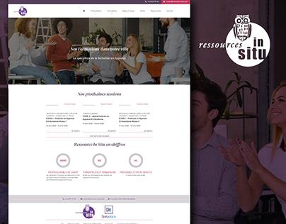 Ressources in situ - website