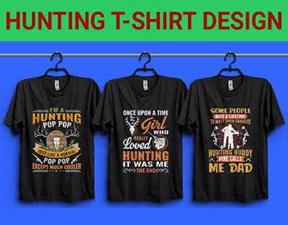 Hunting T-Shirt design Bundle
