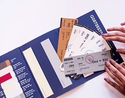 Passport by Fraser Papers (Paper Sample Book)