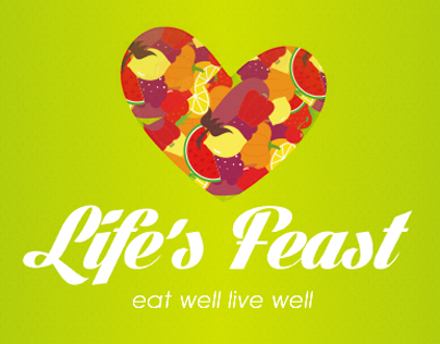 Life's Feast - Logo and Web Design