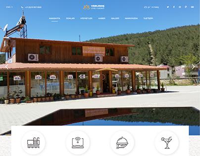 Varlıbaş Uyku Sarayı Hotel Web Design