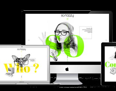 So'Happy Website Design & Code