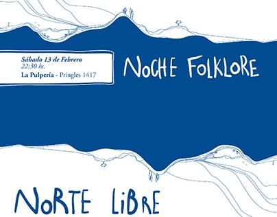 Norte Libre - Ilustración + Arte de Disco