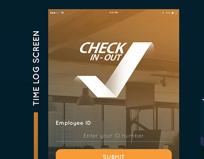 Check-In-Out. Mobile App