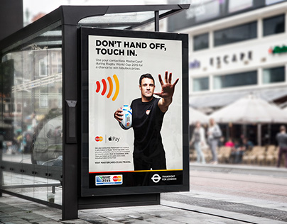 Mastercard Contactless Rugby World Cup promotion