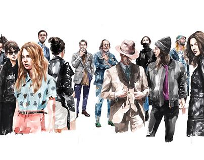 kasiq fashion illustration series 4