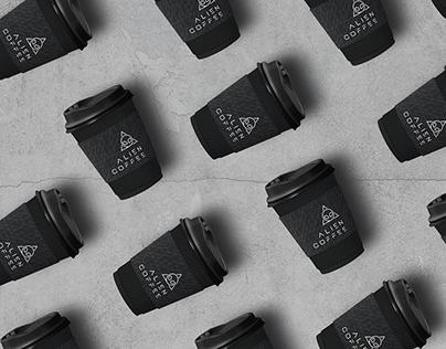 ALIEN COFFEE   Branding