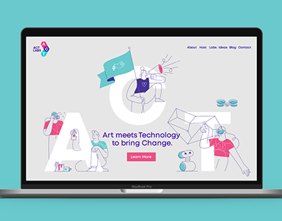 ACT Labs - brand identity