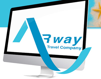 AR-way. Layout design for a Travel Company's website