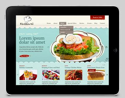 Mazzareli - Restaurant & Cafe WordPress Theme