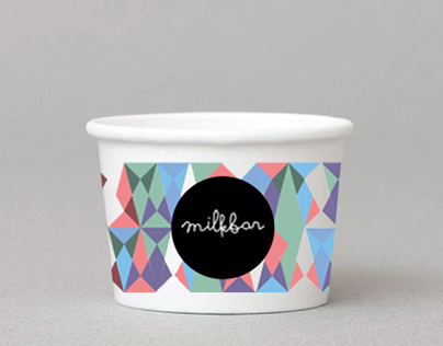 Milkbar Gelato - Packaging
