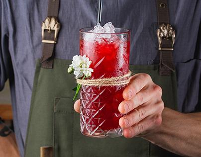 Сьемка коктейльной карты для Аптека бар. Витебск