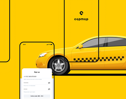 Capmap Taxi app