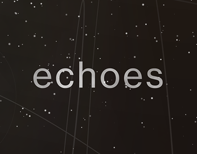 """""""Echoes"""" — Music Poster"""
