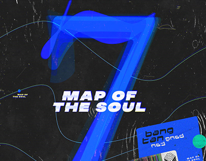 BTS MAP OF THE SOUL: 7 CD RE-DESIGN