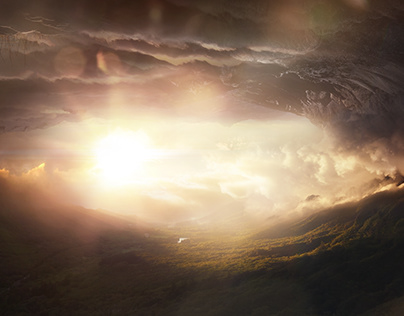 Matte Painting - Camera Projection