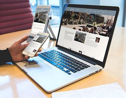 Website Responsivo - Sala de Imprensa
