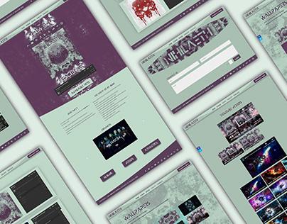 Nihilaeth Website Redesign
