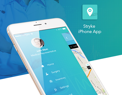 Stryke Healthcare iPhone App