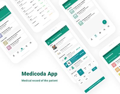 Medicoda - Medical data App