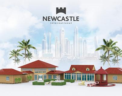 Newcastle - изготовление домов и беседок в ОАЭ