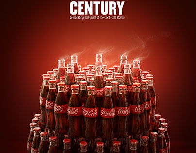 Coca Cola Bottle - Happy Century