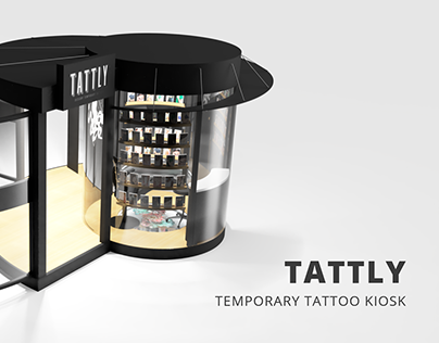 Temporary Tattoo Kiosk