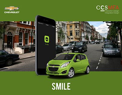 Smile, UX Design for Chevrolet