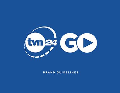 PROJEKT LOGO TVN24 GO