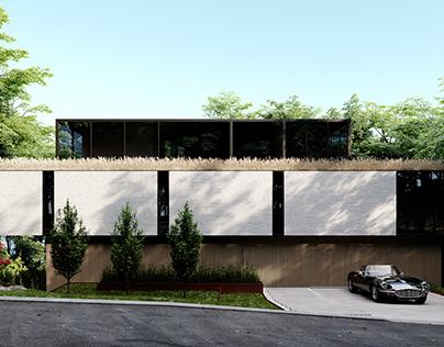Crestwood Residence / Ancerl Studio