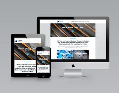 Plastics Capital plc Website