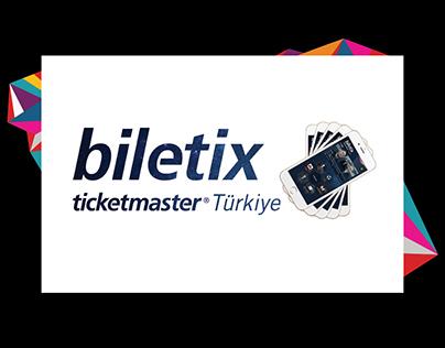Biletix Ticketmaster Mobile Application Design