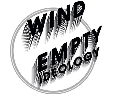 """logo & poster for sport store """"WIND"""". Empty idiology."""
